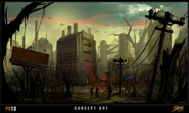 Fallout MMO Concept Art