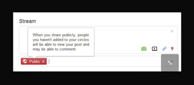 Google+ policy for teen