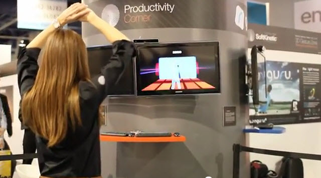 SoftKinetic brings Kinect-like controls to the PC (video)   VentureBeat