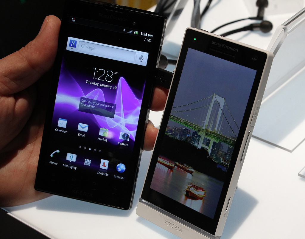 Xperia S and Xperia Ion