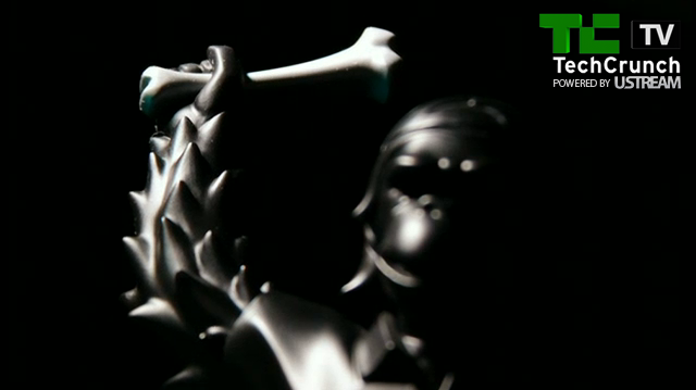 Screenshot from video of the 2011 Crunchies Awards.
