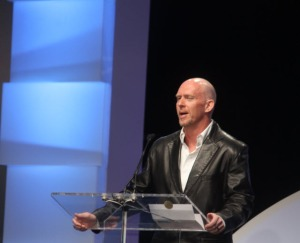 Frank Pearce speaks at DICE a few years back.