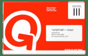 Quickflix envelope