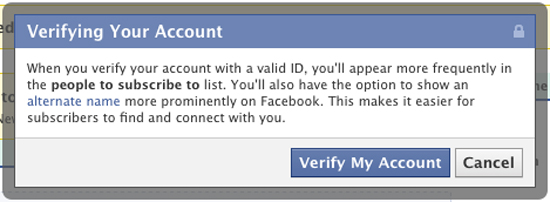 how to get a verified account on facebook