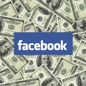 Facebook money image