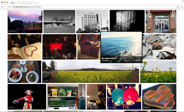 A facelift for Flickr