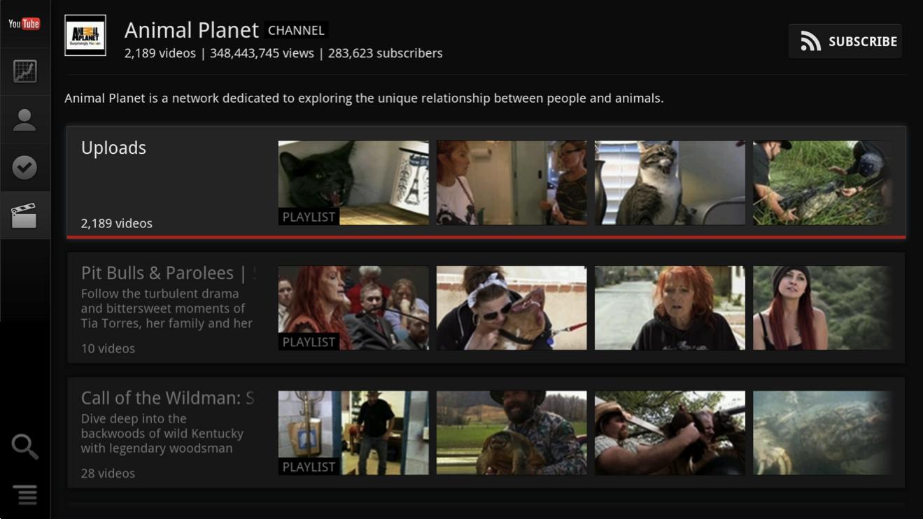 Google tv youtube updates on the way just in time for original content venturebeat - Tv und mediamobel ...