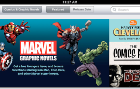 iBookstore, Graphic Novels