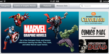Apple adds graphic novel category to the iBookstore, including 80 from Marvel Comics