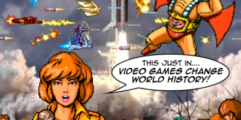 In an alternate reality, video games changed world history