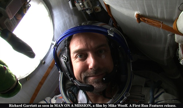 Richard Garriott, aka Lord British, on board the ISS