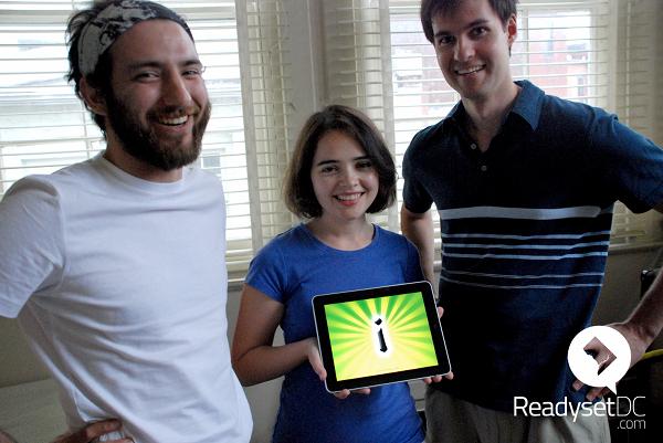 The Imangi Studios Team: Kiril, Natalia, Keith