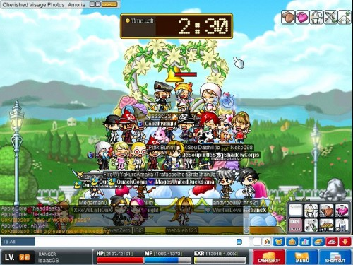 Maplestory weddings