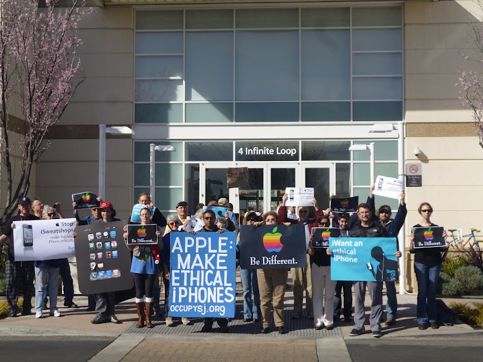 Apple Protesters