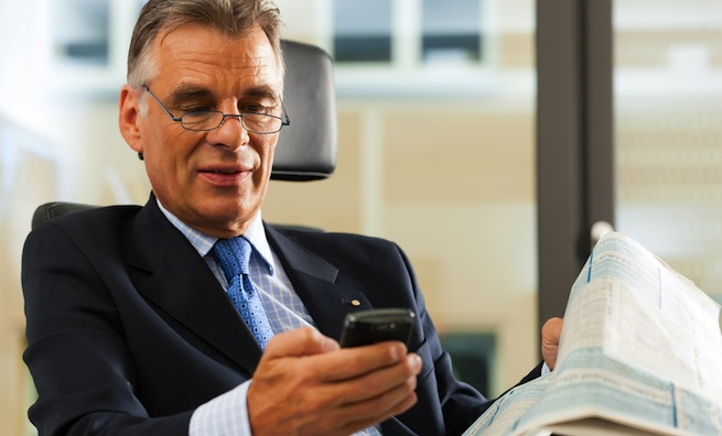 business mobile device