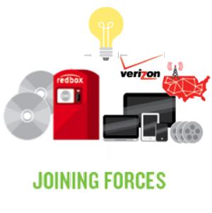 Verizon, Redbox