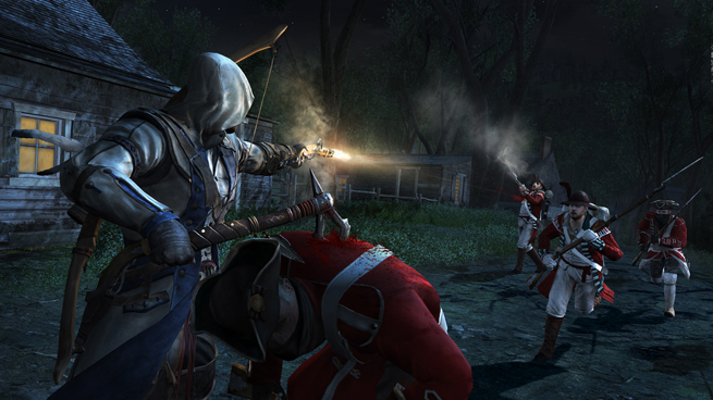 4 Things You Won T See In Assassin S Creed Iii Venturebeat