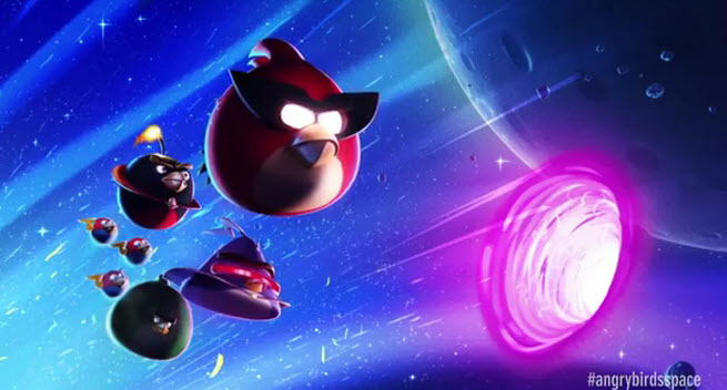 angry birds space lunar launcher - photo #24
