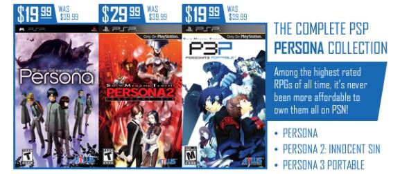 Atlus Persona PSP Price Drop