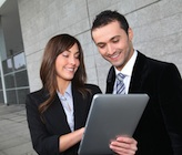 business people with tablet 160