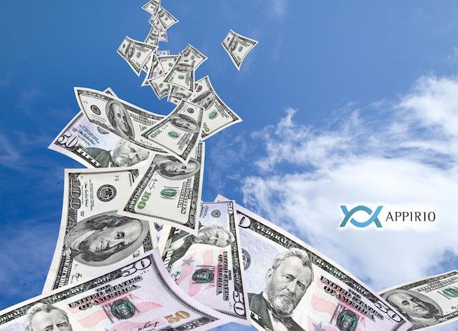 cloud with money appirio