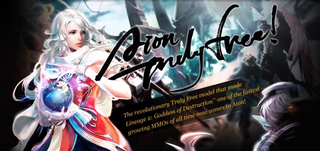 Aion goes free-to-play on April 11, 2012