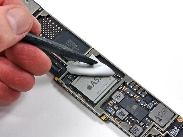 ifixit new ipad a5x chip