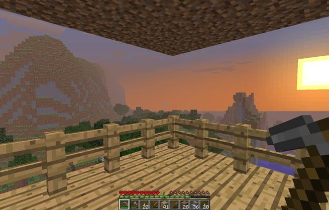 Minecraft Vista