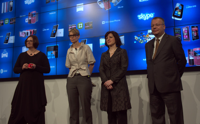 Stephen Elop and the Nokia crew