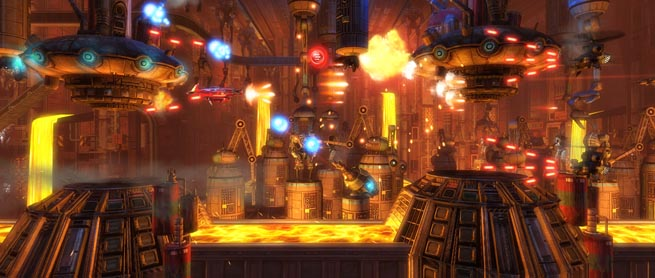 Sine Mora, the latest Xbox Live 2D shooter from Grasshopper and Digital Reality