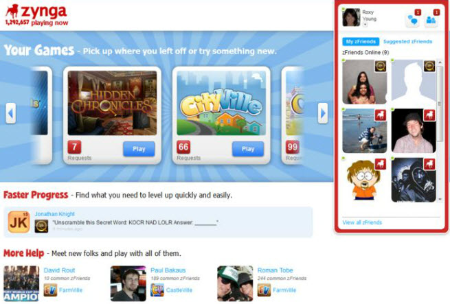 Zynga launches Zynga com, to expand beyond Facebook in a big way
