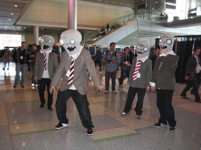 PAX East 2012 Popcap Zombies