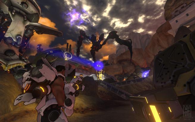 Firefall MMO Beta 2012