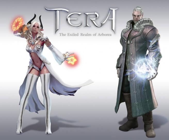 TERA gallery classes races