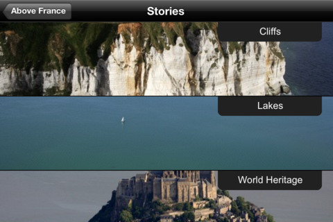 Above France National Geographic app