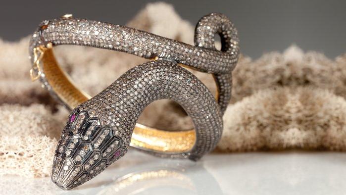 ahalife luxury snake bracelet