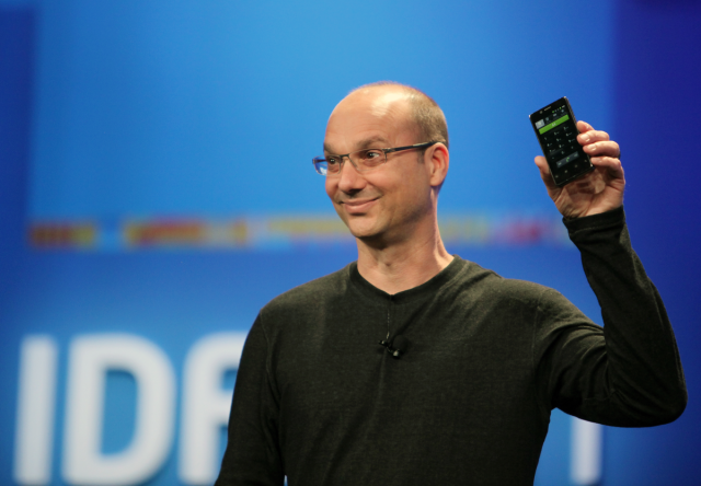 Google's Android head Andy Rubin