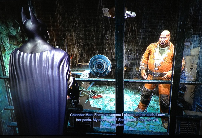 Batman Arkham City_Calendar Man_April Fools