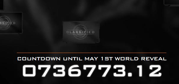 Call of Duty countdown