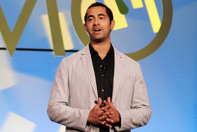 My Coupon Doc cofounder Kishore Eechambadi at DEMO Spring 2012