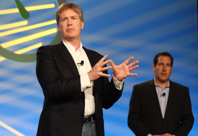Zigmail cofounders Michael Kennedy and Richard Gerstein at DEMO Spring 2012