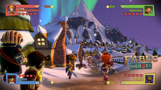 Fable Heroes, a new four-player action game from Lionhead for Xbox Live Arcade