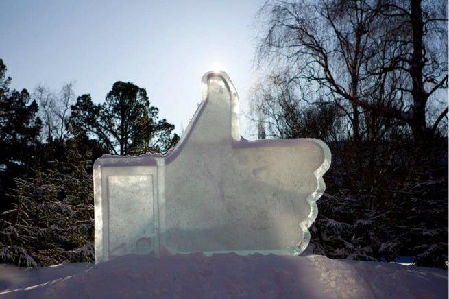 facebook like ice