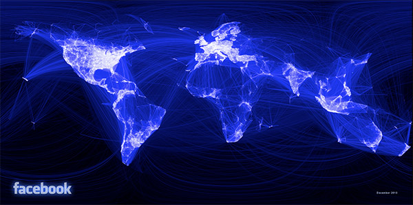 facebook users map