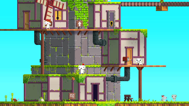 Fez, a new indie platformer hitting Xbox Live Arcade from Polytron Corporation