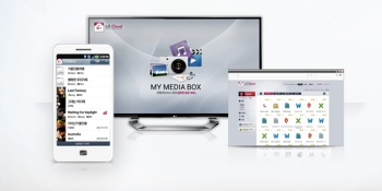 LG debuts cloud storage service with emphasis on media streaming
