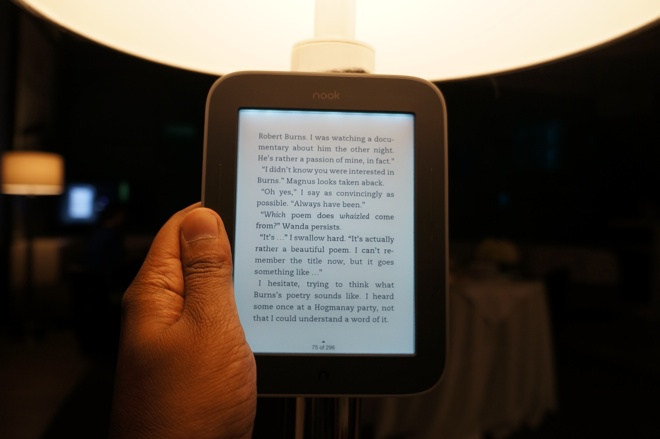 nook simple touch glowlight