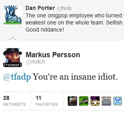 Notch tweets to Dan Porter