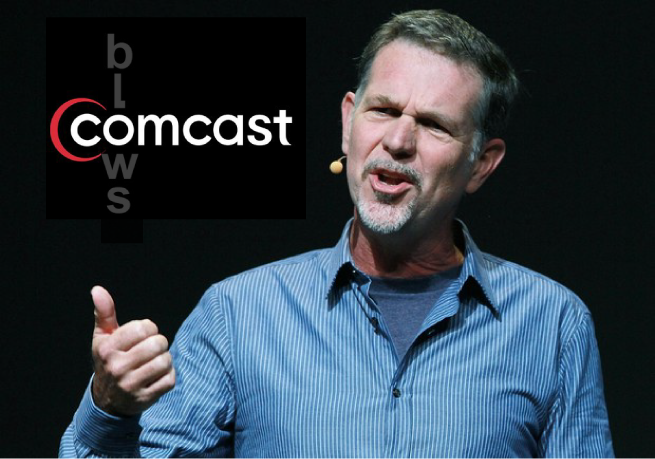 Reed Hastings, Comcast