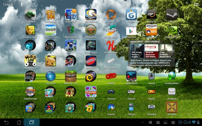 Android games and apps for gamers
